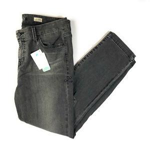 Stitch Fix Level 99 Lily Crop Gray Jeans NWT 31